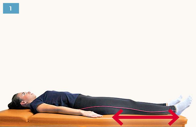 Ćwiczenie zwiększające ruchomość stawu kolanowego