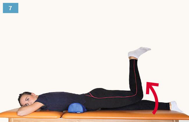 Ćwiczenie wzmacniające mięśnie pośladkowe