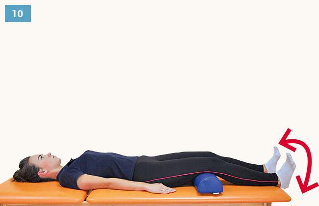 Ćwiczenie wzmacniające mięśnie przedniej strony uda - mięsień czworogłowy uda