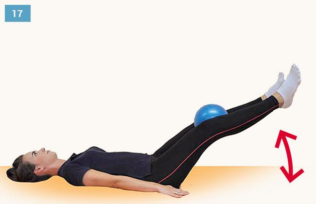 Ćwiczenie wzmacniające mięśnie przedziału przyśrodkowego i przedniego uda