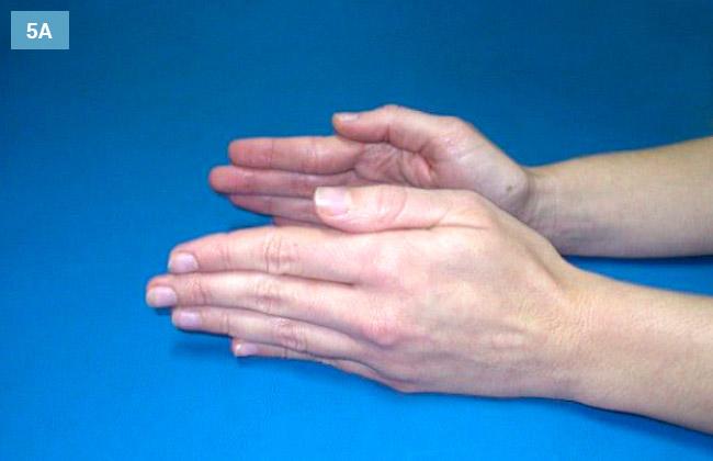 Ćwiczenie odwodzenie i przywodzenie kciuka