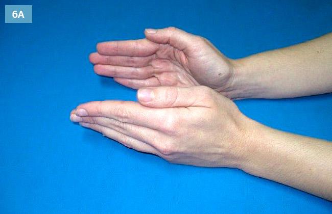 Ćwiczenie przeciwstawianie i odprowadzanie kciuka
